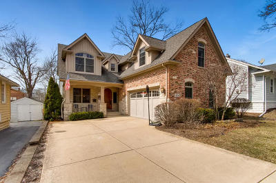 Downers Grove Single Family Home For Sale: 4730 Elm Street