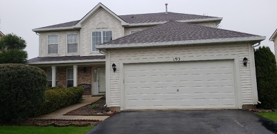 Bolingbrook Single Family Home For Sale: 193 Glendale Drive