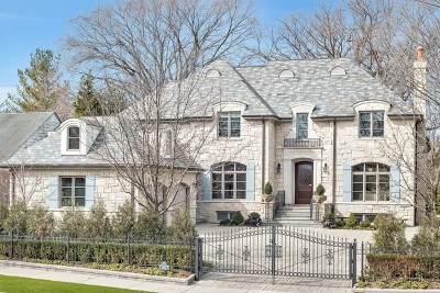 Wilmette Single Family Home For Sale: 1221 Sheridan Road