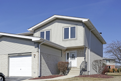 Tinley Park Condo/Townhouse For Sale: 7812 160th Street