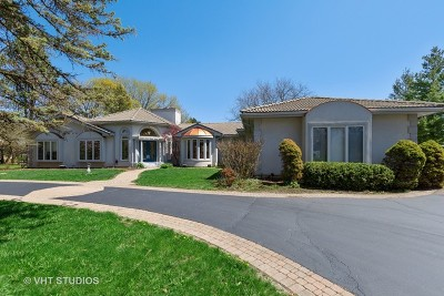 Barrington Single Family Home For Sale: 53 West Lake Shore Drive