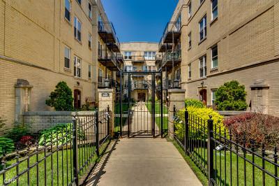 Condo/Townhouse For Sale: 4014 North Albany Avenue #3B