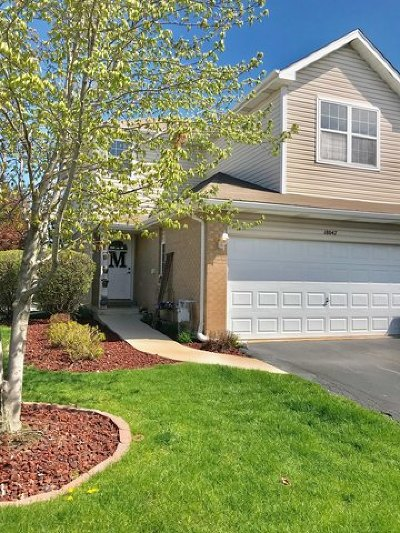 Tinley Park Condo/Townhouse Contingent: 18047 Mager Drive