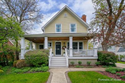 Glen Ellyn Single Family Home For Sale: 297 Taylor Avenue