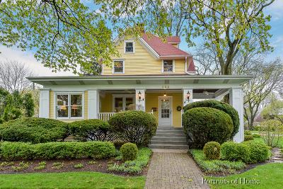 Wheaton Single Family Home For Sale: 503 North Ellis Avenue