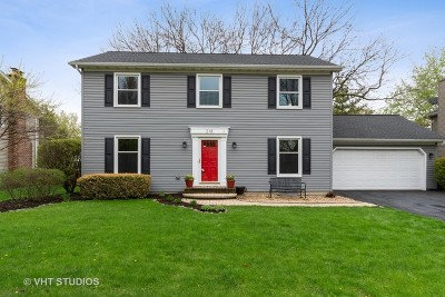 Naperville Single Family Home For Sale: 218 North Whispering Hills Drive