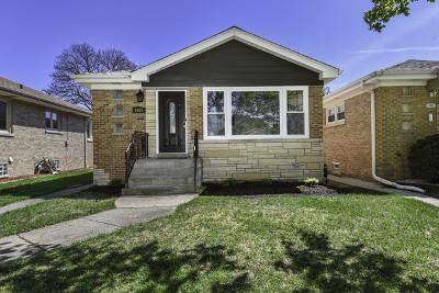 Chicago Single Family Home Contingent: 7447 North Osceola Avenue
