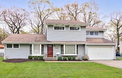 Libertyville Single Family Home For Sale: 16086 West Arlington Drive
