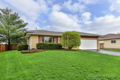 Bolingbrook Single Family Home For Sale: 194 Silverado Street