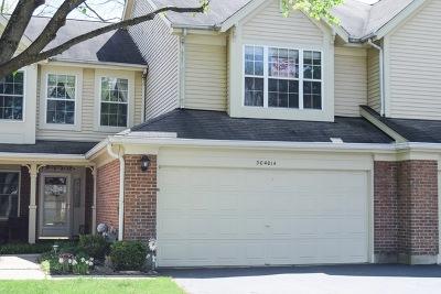 Warrenville Condo/Townhouse For Sale: 30w014 Laurel Court