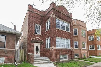 Multi Family Home For Sale: 5837 North Washtenaw Avenue
