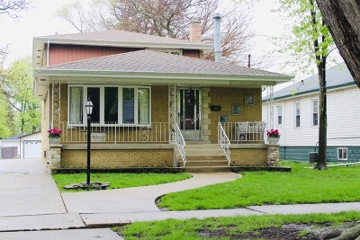 Evergreen Park Single Family Home For Sale: 3248 West 97th Street