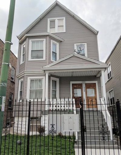 Multi Family Home For Sale: 2934 North Lawndale Avenue