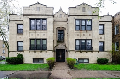 Condo/Townhouse For Sale: 5700 North Maplewood Avenue #4