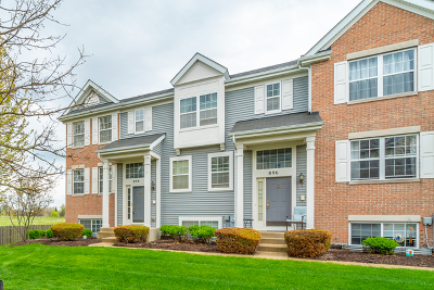 Pingree Grove Condo/Townhouse For Sale: 898 Clover Lane