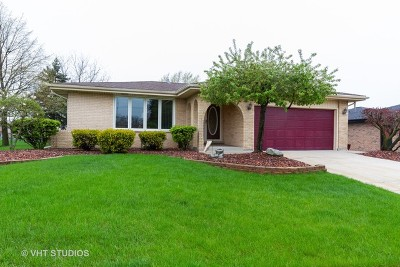 Tinley Park Single Family Home For Sale: 8512 170th Place