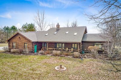 Marengo Single Family Home For Sale: 20619 Dunham Road