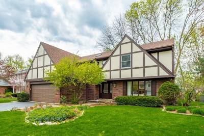 Arlington Heights Single Family Home Price Change: 1207 East Valley Lane