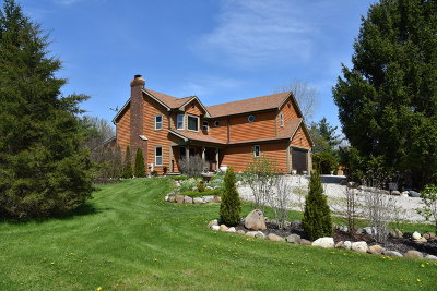 Mc Henry County Single Family Home Price Change: 7617 Kemman Road