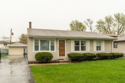 Orland Hills Single Family Home Contingent: 16725 Haven Avenue