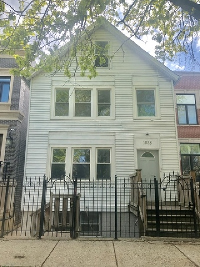 Chicago Residential Lots & Land For Sale: 1838 North Marshfield Avenue