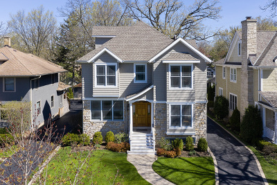Winnetka Single Family Home For Sale: 907 Oak Street
