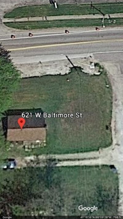 Wilmington Residential Lots & Land For Sale: 621 West Baltimore Street