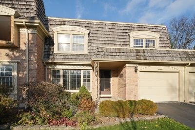 Oak Brook Condo/Townhouse For Sale: 19w006 Avenue Normandy E Avenue