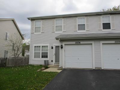 Plainfield Rental For Rent: 22236 West Niagara Trail