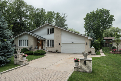 Palos Heights, Palos Hills Single Family Home For Sale: 10028 South 86th Court