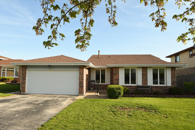 Orland Hills Single Family Home For Sale: 9032 170th Street