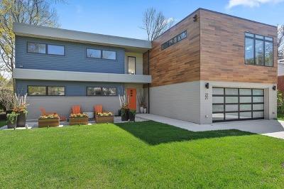 Glenview Single Family Home For Sale: 2221 Prairie Street