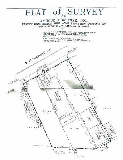 Chicago Residential Lots & Land Price Change: 5349 North Bowmanville Avenue