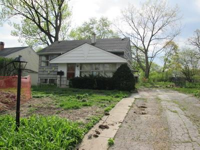 Wheaton Single Family Home For Sale: 308 Birch Drive