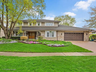 Willowbrook IL Single Family Home For Sale: $549,900
