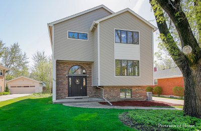 Lombard Single Family Home Price Change: 249 North Lombard Avenue