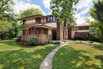 Highland Park Single Family Home For Sale: 344 Elm Place