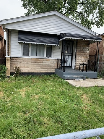 Chicago IL Single Family Home Re-Activated: $109,900
