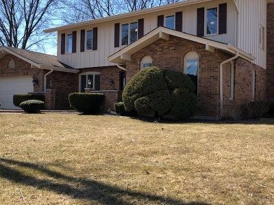 Burr Ridge Single Family Home Price Change: 8348 Dolfor Cove