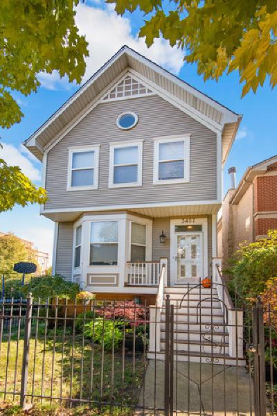 Roscoe Village Single Family Home For Sale: 3457 North Hamilton Avenue