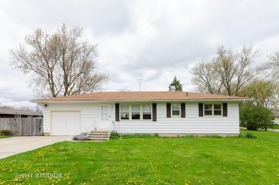 Marengo Single Family Home Price Change: 518 East Van Buren Street