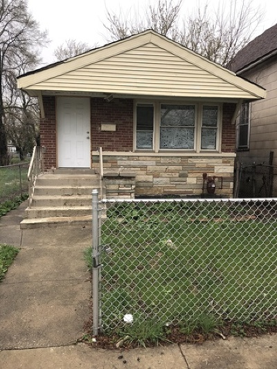 Chicago Single Family Home For Sale: 330 West 109th Street