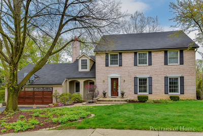 Downers Grove Single Family Home For Sale: 3719 Venard Road