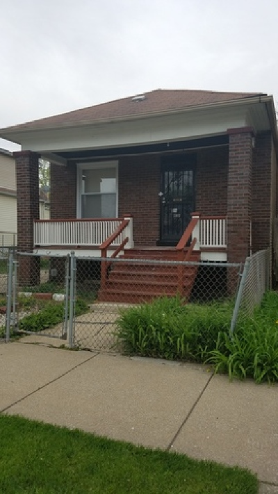 Chicago Single Family Home For Sale: 10612 South La Salle Street