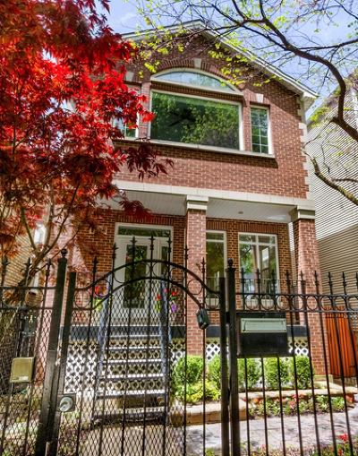 Single Family Home Price Change: 3928 North Hermitage Avenue