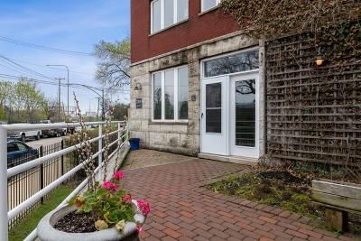 Condo/Townhouse For Sale: 2319 North Hamilton Avenue #6