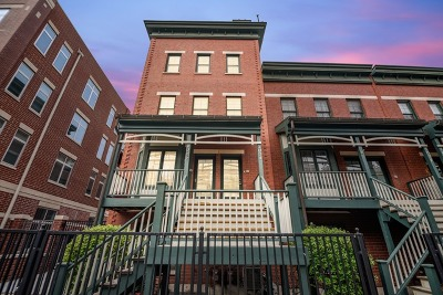 Condo/Townhouse For Sale: 1034 West Monroe Street #1