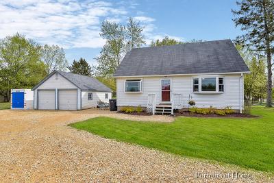 Batavia Single Family Home For Sale: 2s011 Nelson Lake Road