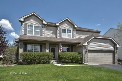 Huntley Single Family Home For Sale: 9583 Bristol Lane