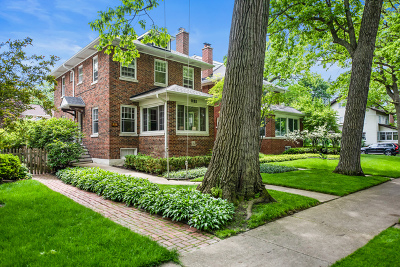 Wilmette Single Family Home For Sale: 931 Oakwood Avenue